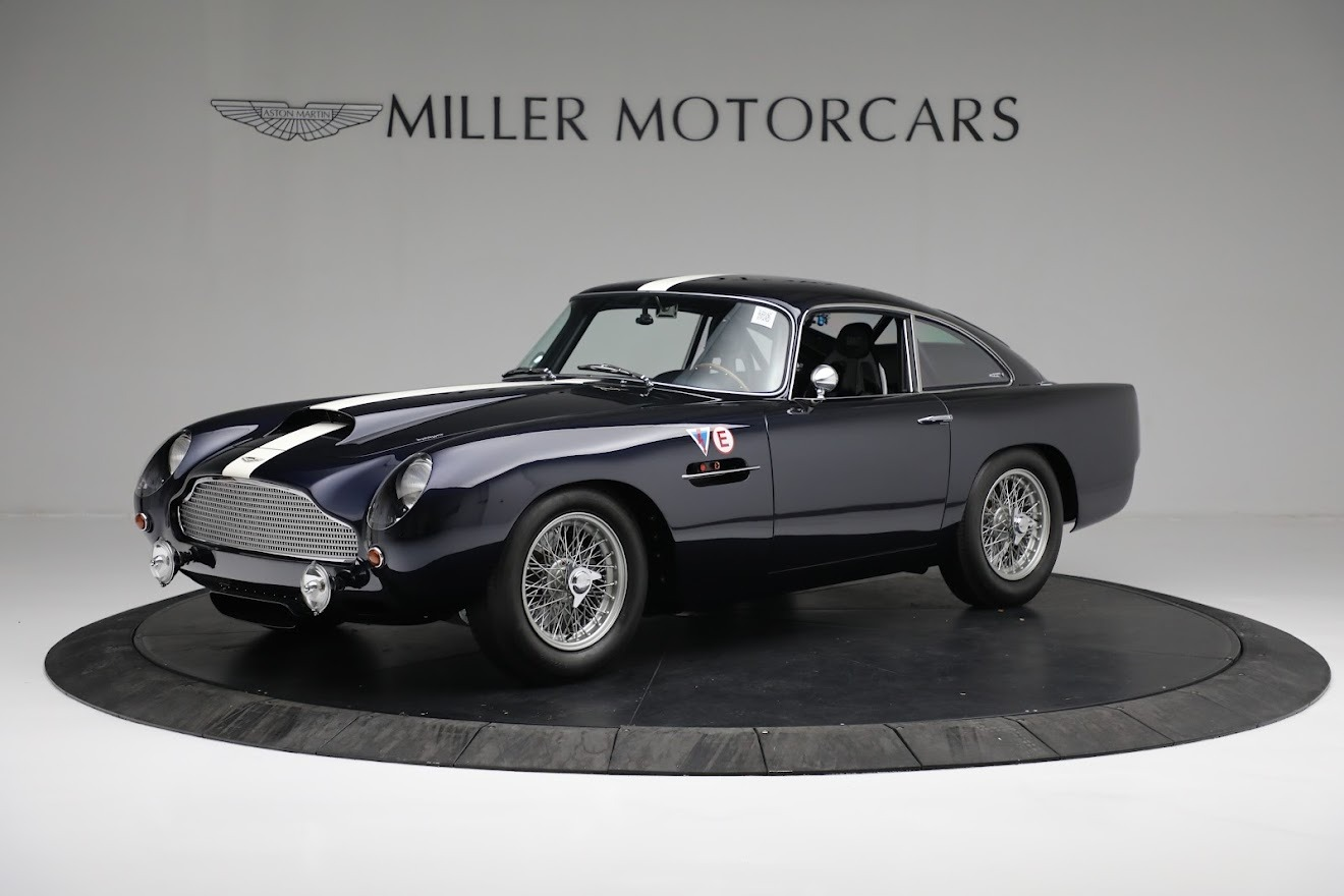 New 2018 Aston Martin DB4 GT Continuation Coupe for sale Call for price at Maserati of Greenwich in Greenwich CT 06830 1
