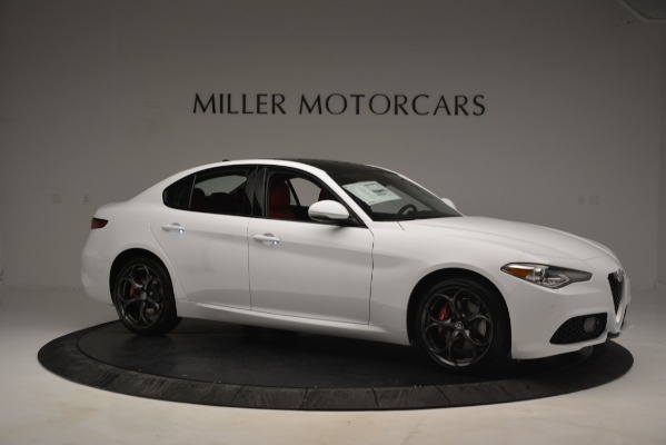 New 2019 Alfa Romeo Giulia Ti Sport Q4 for sale Sold at Maserati of Greenwich in Greenwich CT 06830 10