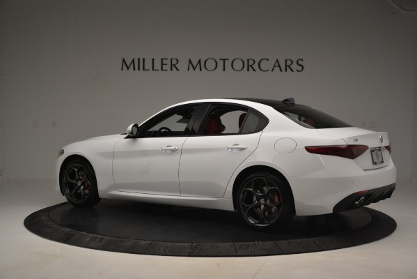 New 2019 Alfa Romeo Giulia Ti Sport Q4 for sale Sold at Maserati of Greenwich in Greenwich CT 06830 4