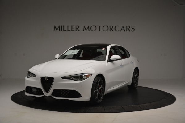 New 2019 Alfa Romeo Giulia Ti Sport Q4 for sale Sold at Maserati of Greenwich in Greenwich CT 06830 1