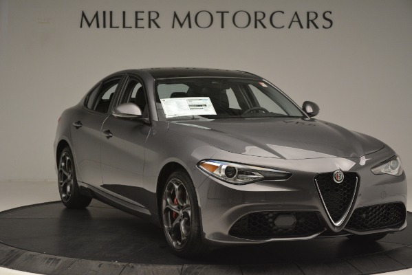 New 2019 Alfa Romeo Giulia Ti Sport Q4 for sale Sold at Maserati of Greenwich in Greenwich CT 06830 11