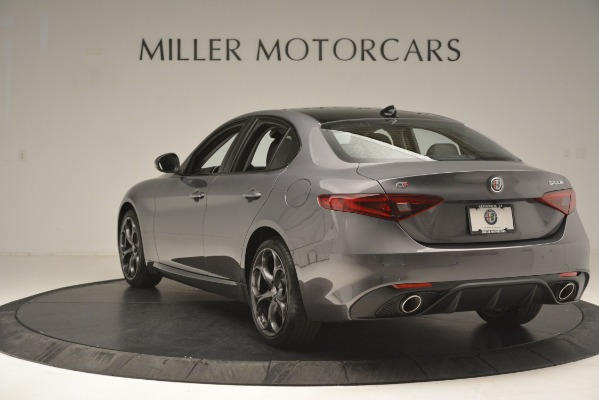 New 2019 Alfa Romeo Giulia Ti Sport Q4 for sale Sold at Maserati of Greenwich in Greenwich CT 06830 5