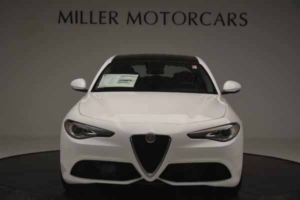 New 2019 Alfa Romeo Giulia Ti Sport Q4 for sale Sold at Maserati of Greenwich in Greenwich CT 06830 12