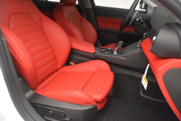 New 2019 Alfa Romeo Giulia Ti Sport Q4 for sale Sold at Maserati of Greenwich in Greenwich CT 06830 24
