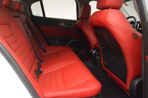 New 2019 Alfa Romeo Giulia Ti Sport Q4 for sale Sold at Maserati of Greenwich in Greenwich CT 06830 27