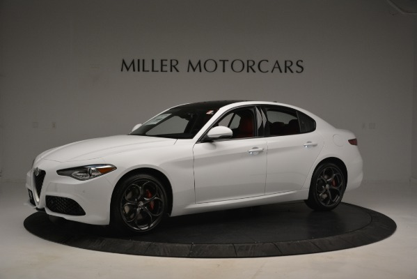 New 2019 Alfa Romeo Giulia Ti Sport Q4 for sale Sold at Maserati of Greenwich in Greenwich CT 06830 2