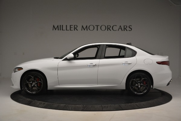 New 2019 Alfa Romeo Giulia Ti Sport Q4 for sale Sold at Maserati of Greenwich in Greenwich CT 06830 3
