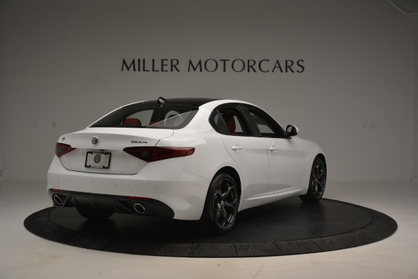 New 2019 Alfa Romeo Giulia Ti Sport Q4 for sale Sold at Maserati of Greenwich in Greenwich CT 06830 7