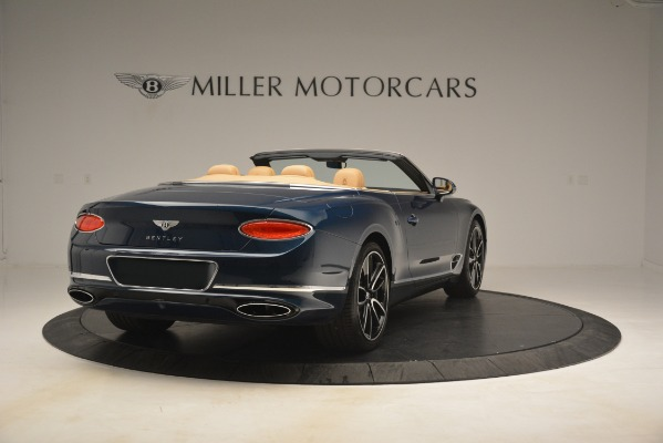 New 2020 Bentley Continental GTC for sale Sold at Maserati of Greenwich in Greenwich CT 06830 7