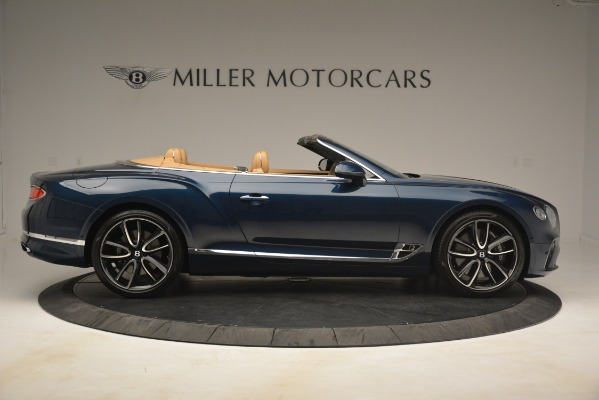 New 2020 Bentley Continental GTC for sale Sold at Maserati of Greenwich in Greenwich CT 06830 9
