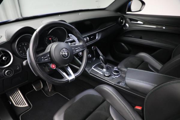 New 2019 Alfa Romeo Stelvio Quadrifoglio for sale Sold at Maserati of Greenwich in Greenwich CT 06830 13