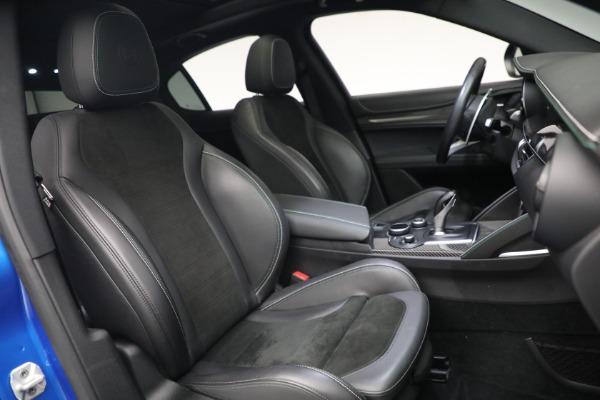 New 2019 Alfa Romeo Stelvio Quadrifoglio for sale Sold at Maserati of Greenwich in Greenwich CT 06830 22