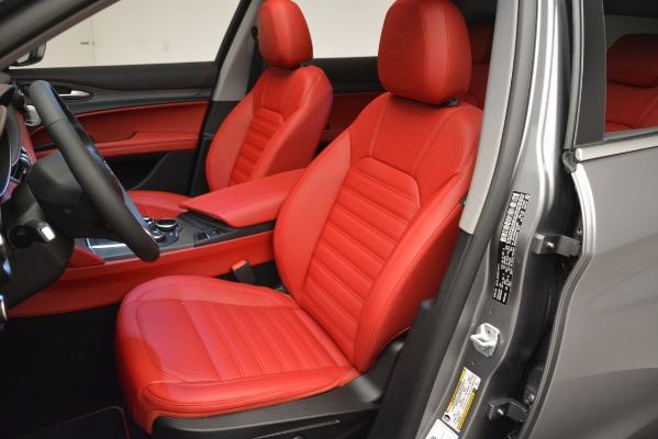 New 2019 Alfa Romeo Stelvio Ti Lusso Q4 for sale Sold at Maserati of Greenwich in Greenwich CT 06830 13