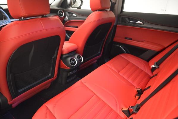 New 2019 Alfa Romeo Stelvio Ti Lusso Q4 for sale Sold at Maserati of Greenwich in Greenwich CT 06830 18