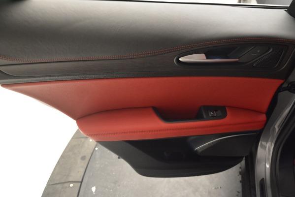 New 2019 Alfa Romeo Stelvio Ti Lusso Q4 for sale Sold at Maserati of Greenwich in Greenwich CT 06830 19