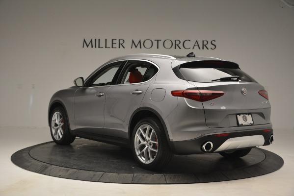 New 2019 Alfa Romeo Stelvio Ti Lusso Q4 for sale Sold at Maserati of Greenwich in Greenwich CT 06830 5