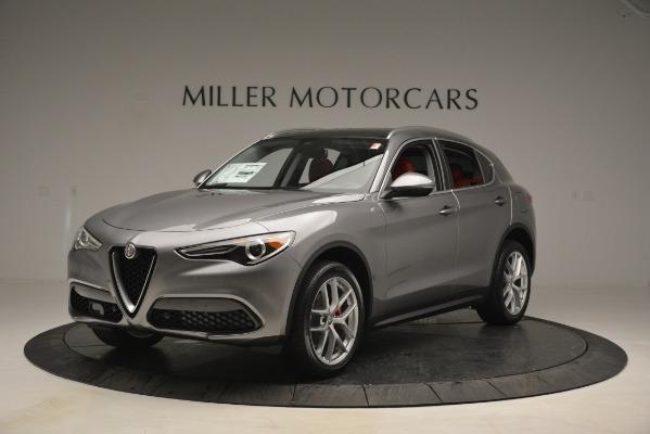 New 2019 Alfa Romeo Stelvio Ti Lusso Q4 for sale Sold at Maserati of Greenwich in Greenwich CT 06830 1