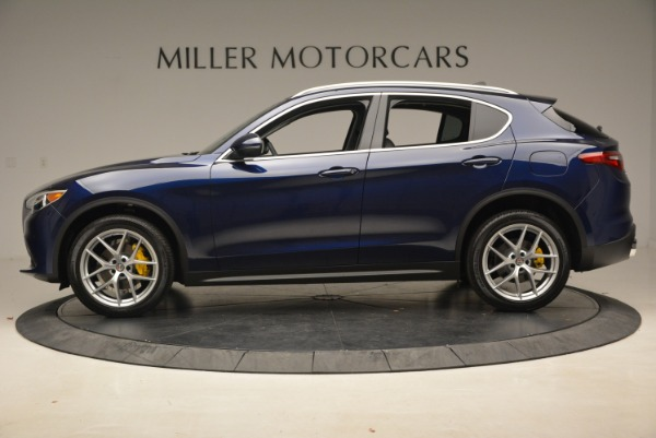 New 2019 Alfa Romeo Stelvio Ti Q4 for sale Sold at Maserati of Greenwich in Greenwich CT 06830 3