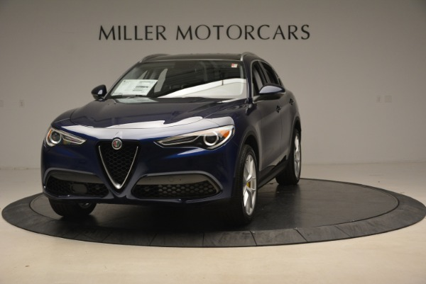 New 2019 Alfa Romeo Stelvio Ti Q4 for sale Sold at Maserati of Greenwich in Greenwich CT 06830 1