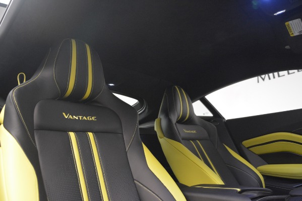 Used 2019 Aston Martin Vantage Coupe for sale Sold at Maserati of Greenwich in Greenwich CT 06830 17