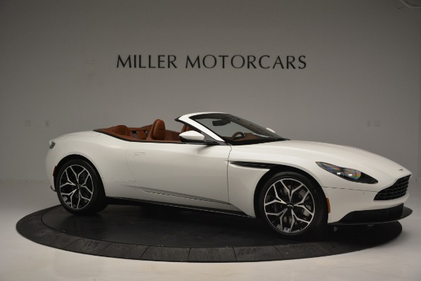 Used 2019 Aston Martin DB11 V8 Convertible for sale Sold at Maserati of Greenwich in Greenwich CT 06830 10