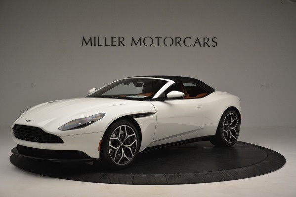 Used 2019 Aston Martin DB11 V8 Convertible for sale Sold at Maserati of Greenwich in Greenwich CT 06830 14