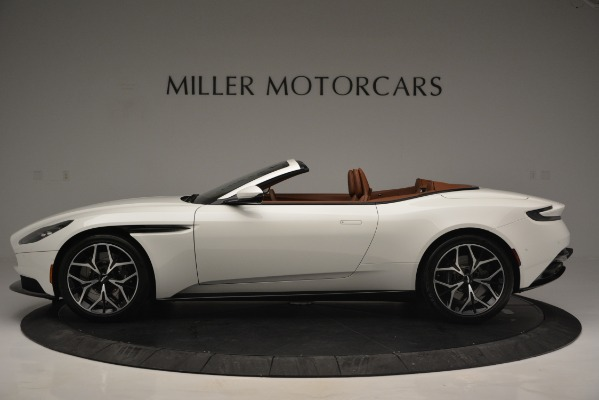 Used 2019 Aston Martin DB11 V8 Convertible for sale Sold at Maserati of Greenwich in Greenwich CT 06830 3