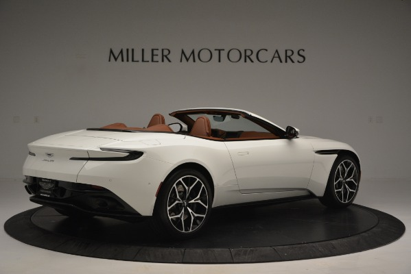 Used 2019 Aston Martin DB11 V8 Convertible for sale Sold at Maserati of Greenwich in Greenwich CT 06830 8