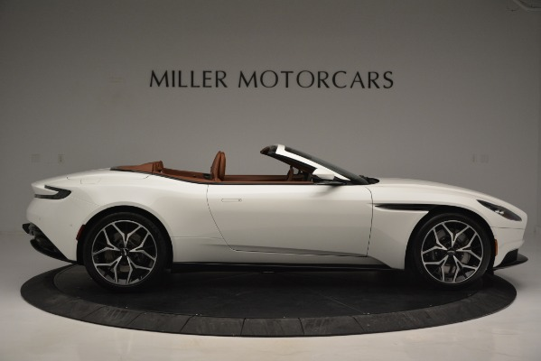 Used 2019 Aston Martin DB11 V8 Convertible for sale Sold at Maserati of Greenwich in Greenwich CT 06830 9