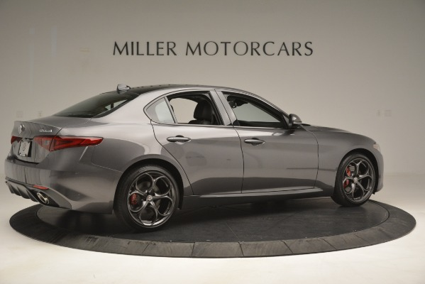 New 2019 Alfa Romeo Giulia Ti Sport Q4 for sale Sold at Maserati of Greenwich in Greenwich CT 06830 8