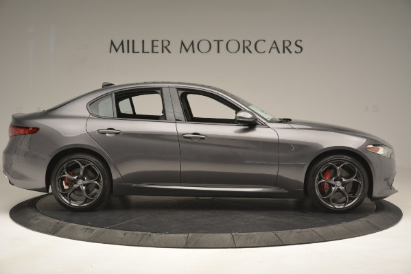 New 2019 Alfa Romeo Giulia Ti Sport Q4 for sale Sold at Maserati of Greenwich in Greenwich CT 06830 9