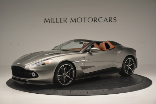 Used 2018 Aston Martin Zagato Speedster Convertible for sale Sold at Maserati of Greenwich in Greenwich CT 06830 1