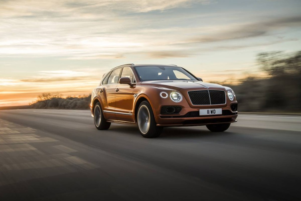 New 2020 Bentley Bentayga Speed for sale Sold at Maserati of Greenwich in Greenwich CT 06830 1