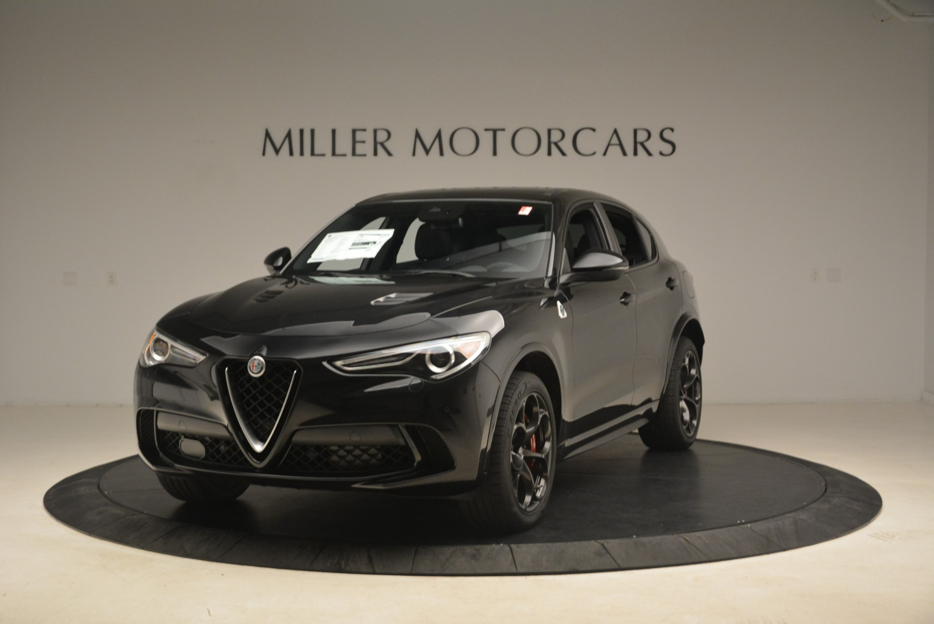 New 2019 Alfa Romeo Stelvio Quadrifoglio for sale Sold at Maserati of Greenwich in Greenwich CT 06830 1