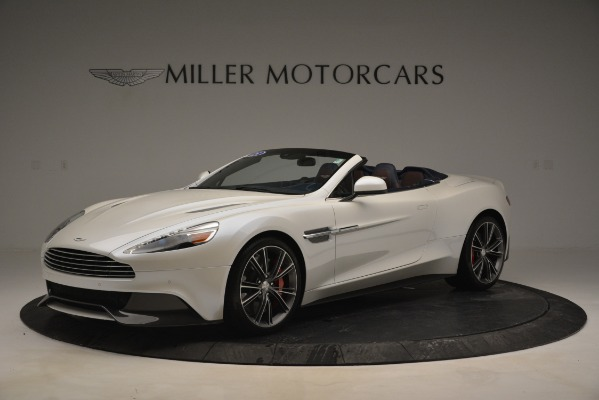 Used 2015 Aston Martin Vanquish Convertible for sale Sold at Maserati of Greenwich in Greenwich CT 06830 1