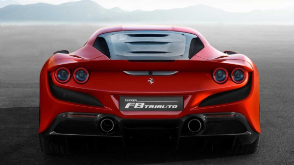 New 2020 Ferrari F8 Tributo for sale Call for price at Maserati of Greenwich in Greenwich CT 06830 5