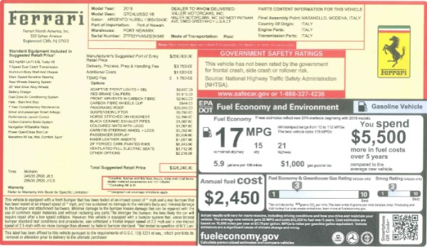 Used 2018 Ferrari GTC4LussoT V8 for sale $219,900 at Maserati of Greenwich in Greenwich CT 06830 23