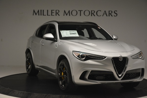 New 2019 Alfa Romeo Stelvio Quadrifoglio for sale $86,440 at Maserati of Greenwich in Greenwich CT 06830 11
