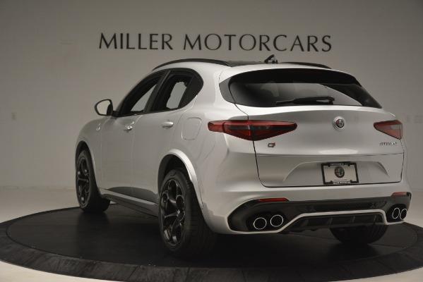 New 2019 Alfa Romeo Stelvio Quadrifoglio for sale $86,440 at Maserati of Greenwich in Greenwich CT 06830 5