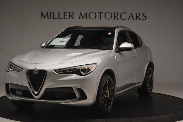 New 2019 Alfa Romeo Stelvio Quadrifoglio for sale $86,440 at Maserati of Greenwich in Greenwich CT 06830 1