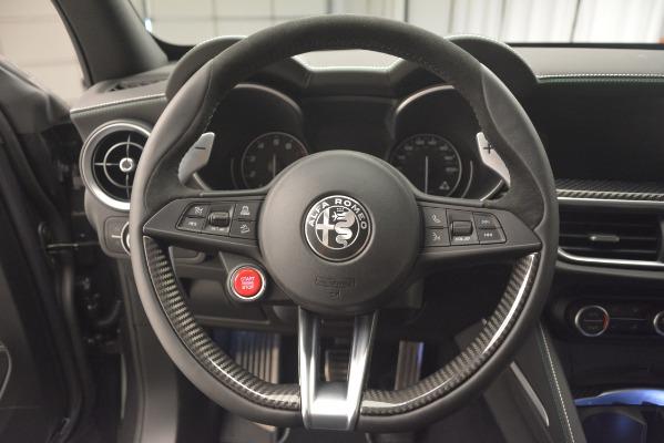 New 2019 Alfa Romeo Stelvio Quadrifoglio for sale Sold at Maserati of Greenwich in Greenwich CT 06830 18
