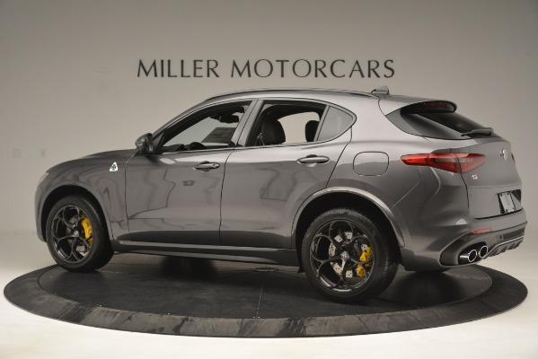New 2019 Alfa Romeo Stelvio Quadrifoglio for sale Sold at Maserati of Greenwich in Greenwich CT 06830 4