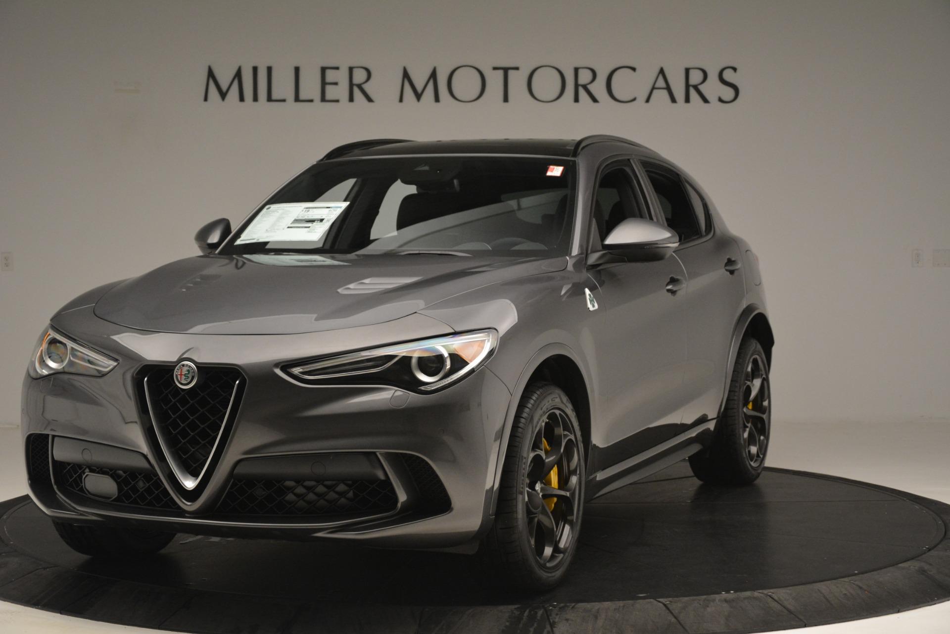 New 2019 Alfa Romeo Stelvio Quadrifoglio for sale Sold at Maserati of Greenwich in Greenwich CT 06830 1