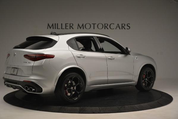 New 2019 Alfa Romeo Stelvio Quadrifoglio for sale Sold at Maserati of Greenwich in Greenwich CT 06830 8