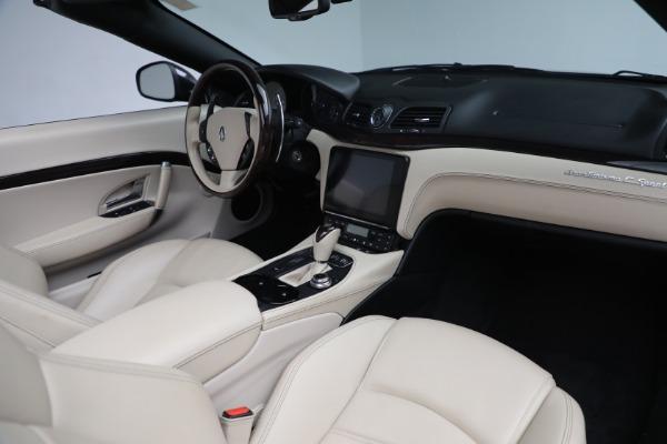 New 2019 Maserati GranTurismo Sport Convertible for sale Sold at Maserati of Greenwich in Greenwich CT 06830 22