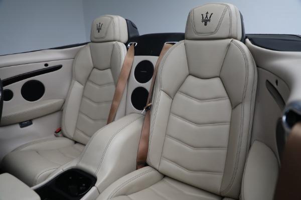New 2019 Maserati GranTurismo Sport Convertible for sale Sold at Maserati of Greenwich in Greenwich CT 06830 27