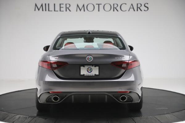 New 2019 Alfa Romeo Giulia Ti Sport Q4 for sale Sold at Maserati of Greenwich in Greenwich CT 06830 6
