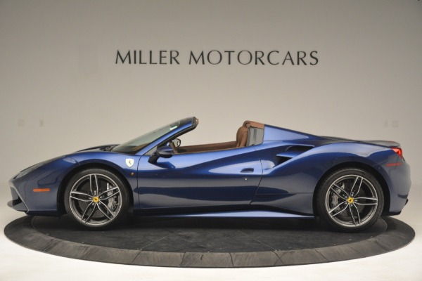 Used 2018 Ferrari 488 Spider for sale Sold at Maserati of Greenwich in Greenwich CT 06830 3