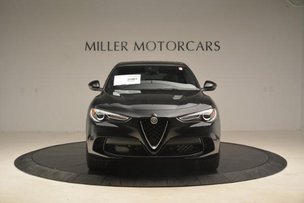 New 2019 Alfa Romeo Stelvio Quadrifoglio for sale $86,440 at Maserati of Greenwich in Greenwich CT 06830 12
