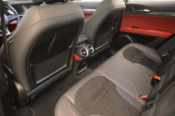New 2019 Alfa Romeo Stelvio Quadrifoglio for sale $86,440 at Maserati of Greenwich in Greenwich CT 06830 16